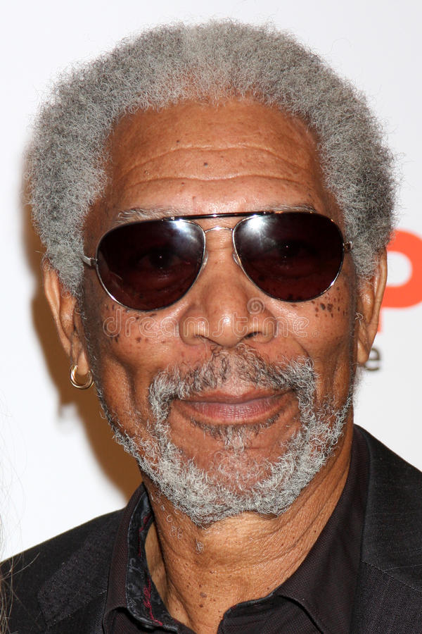Morgan Freeman. Arriving at the Ninth Annual AARP the Magazine`s Movies for Grownups Awards Gala Beverly Wilshire Hotel Beverly Hills, CA February 16, 2010 royalty free stock images