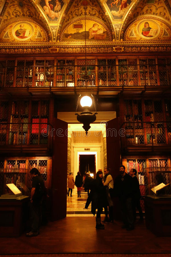 Morgan Library et musée photographie stock