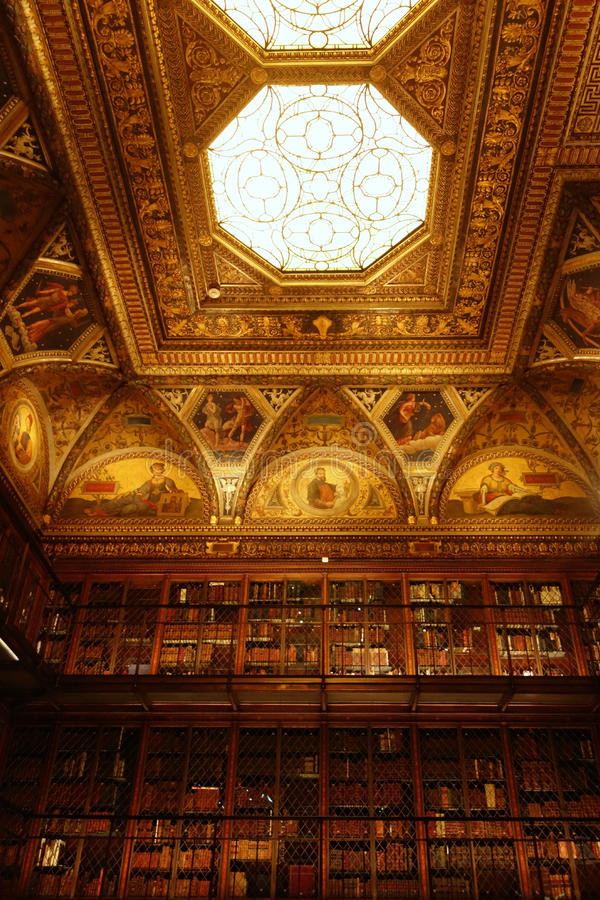 Morgan Library & museum royaltyfria foton