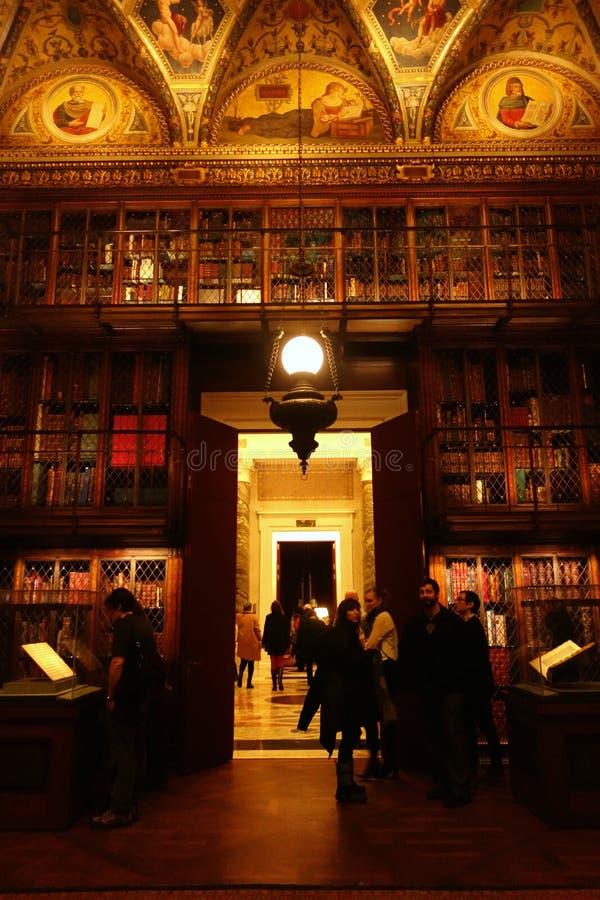 Morgan Library & museum arkivbild