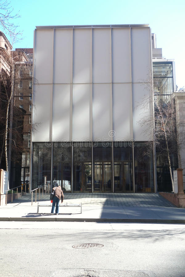 Morgan Library & museum royaltyfria bilder