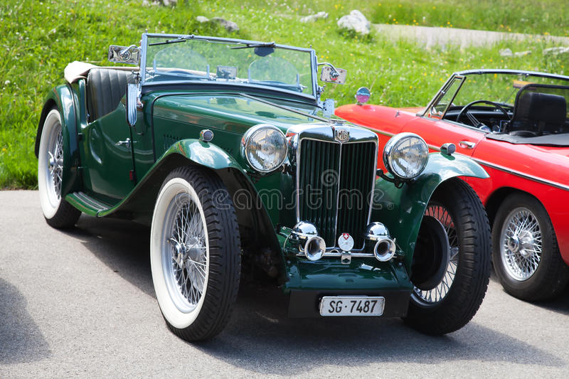 Download Morgan MG Plus Four Editorial Stock Photo - Image: 17842028