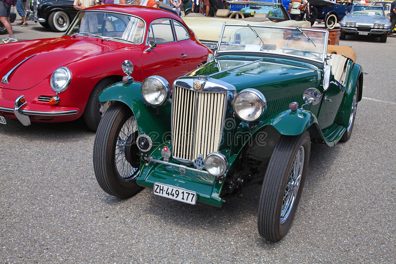Download Morgan MG Plus Four editorial stock photo. Image of auto - 18309378