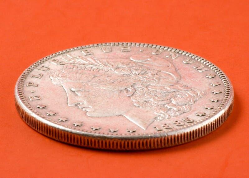 Download Morgan silver dollar stock photo. Image of antique, money - 4327494