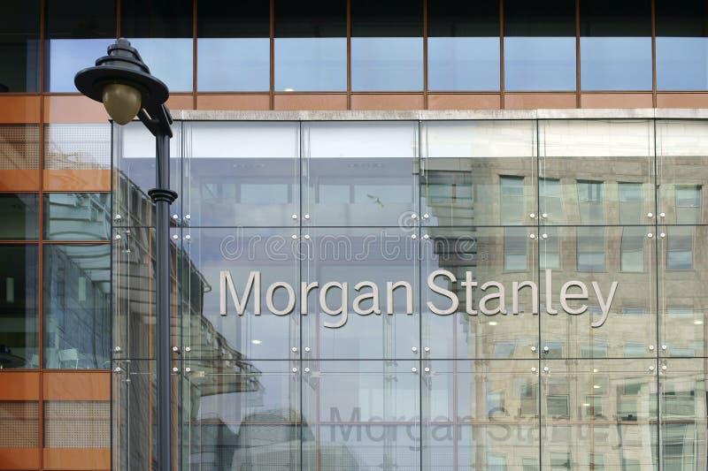 Morgan Stanley stock afbeeldingen