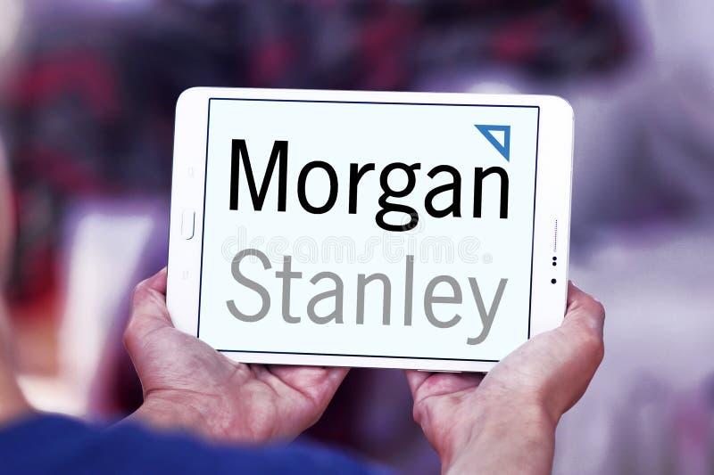 Morgan Stanley-embleem stock afbeeldingen