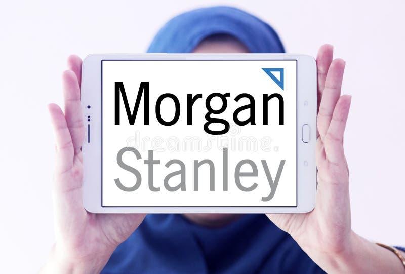 Morgan Stanley-embleem royalty-vrije stock fotografie