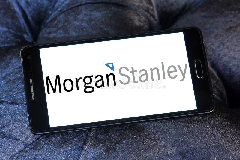 Morgan Stanley-embleem royalty-vrije stock foto