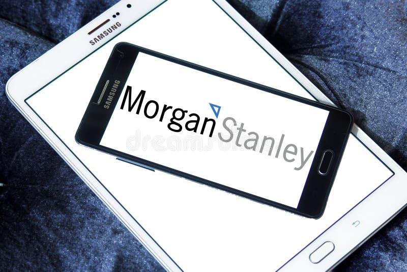 Morgan Stanley-embleem stock foto