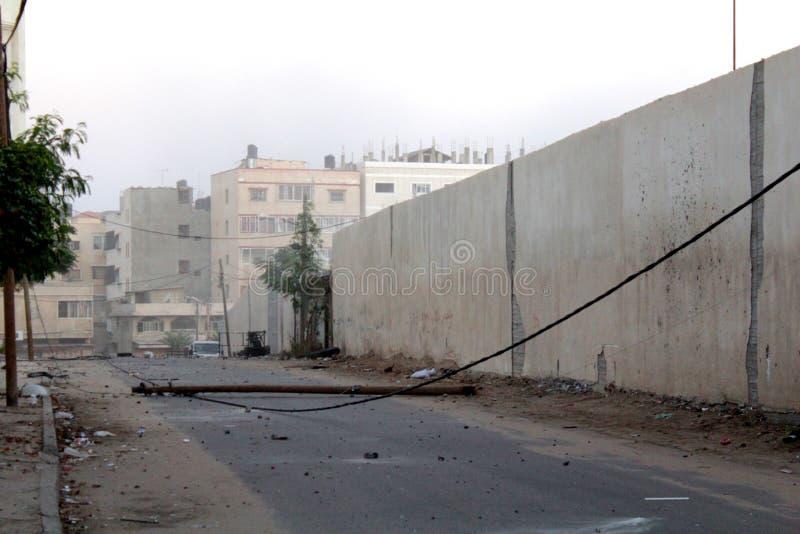 Download Morgen-Bombenanschlag Auf Gaza Redaktionelles Foto - Bild von gaza, israel: 27733271