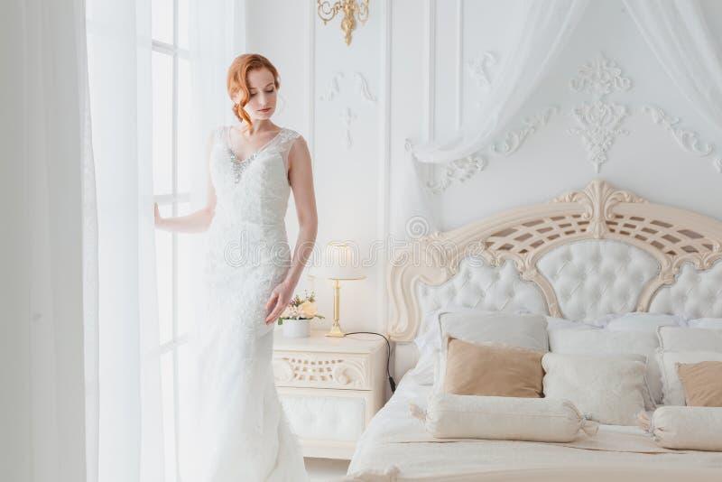 Morgen der Braut stockbild