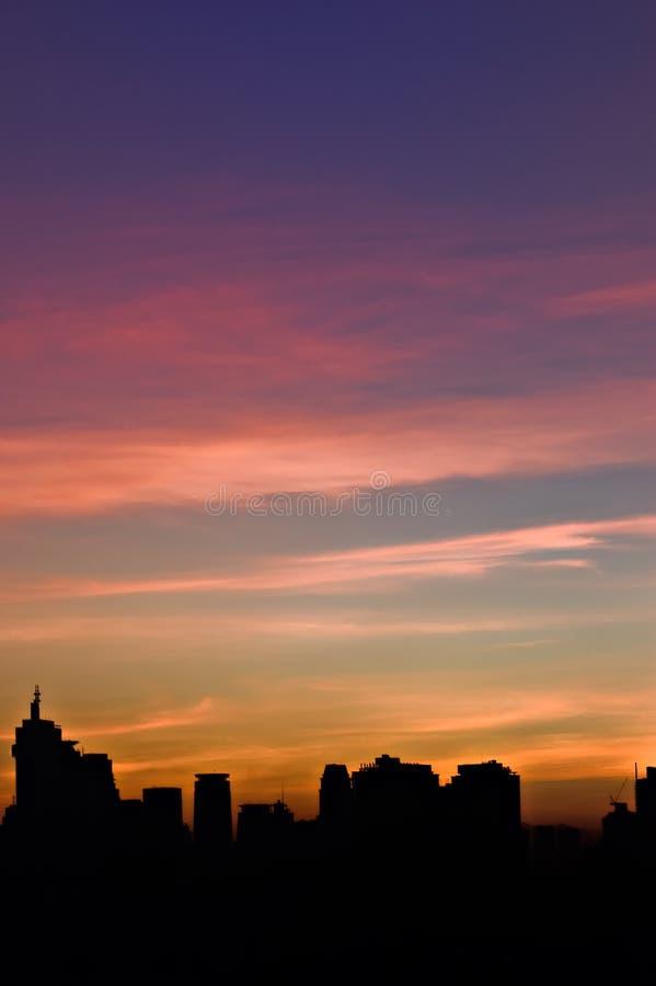 Morgen-Farben stockbilder