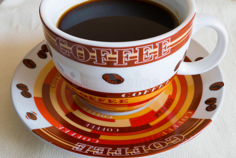 Morgen-Kaffeetasse stockbild