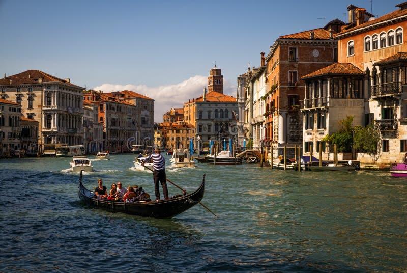 Morgen in Venedig Italien stockbild
