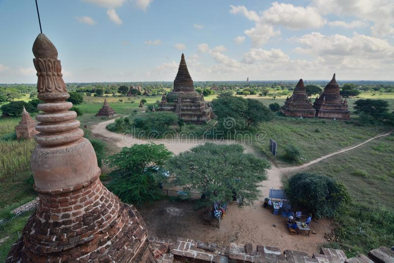 Download Morgenansicht Von Bulethi-Pagode Bagan Myanmar Redaktionelles Bild - Bild von outdoor, birma: 106803700