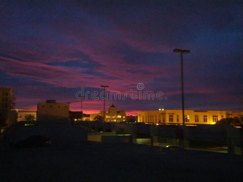 Morgendämmerung stockfotografie
