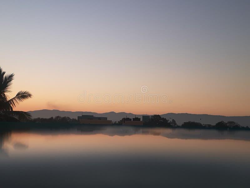 Morgenfotografie aus Indien Tamilnadu Chennai lizenzfreies stockfoto