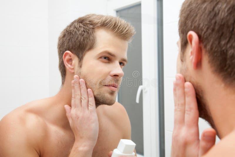 Morgenhygiene stockfotos