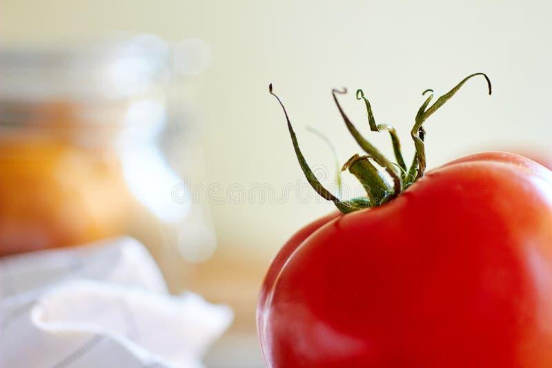 Morgenküchenzusammensetzung stockfoto