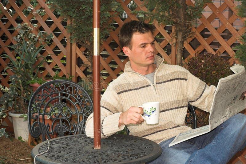 Morgenkaffee stockfotografie