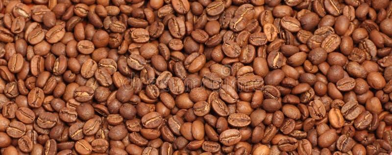 Morgenkaffee mit Bohnen stockfoto