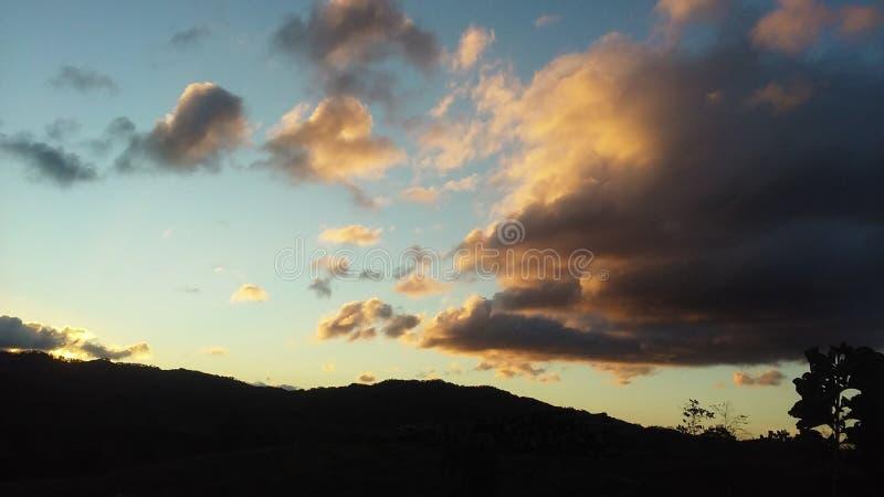 Morgenlichter stockbild