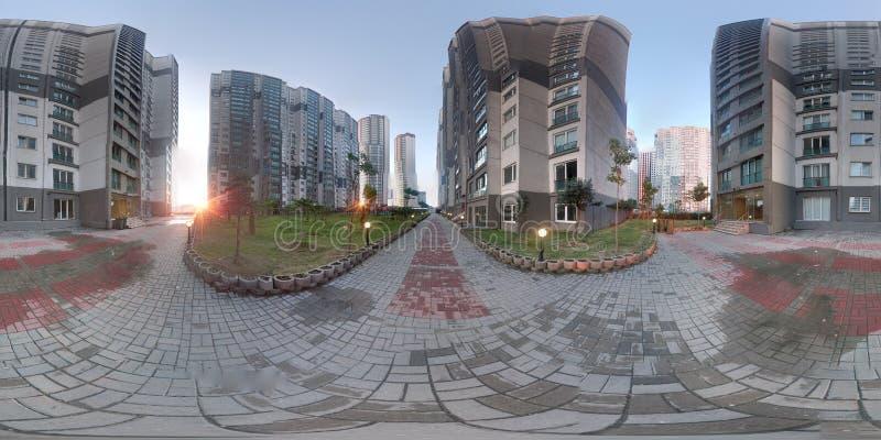 Morgens Panorama Istanbul lizenzfreie stockfotos
