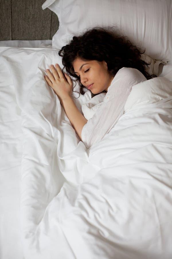 Morgenschlaf stockfoto