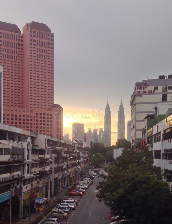 Morgensonnenaufgang schön stockfotos