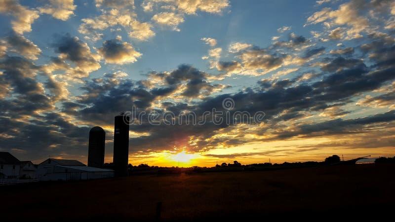 Morgensonnenschein lizenzfreie stockfotos