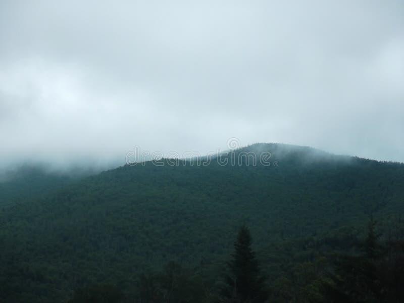 Morgenwolken stockbild