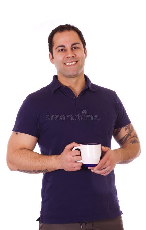 morgon för kaffekopp fotografering för bildbyråer