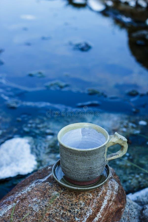 morgon för kaffekopp royaltyfri foto