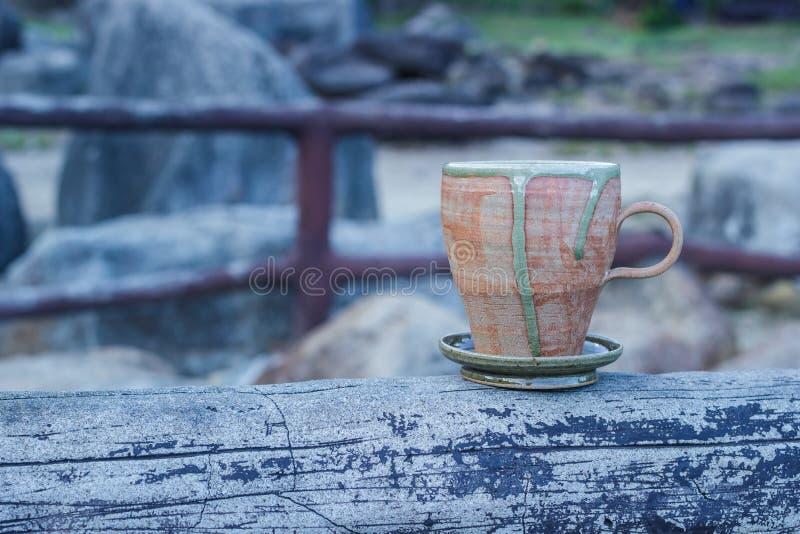 morgon för kaffekopp arkivbilder