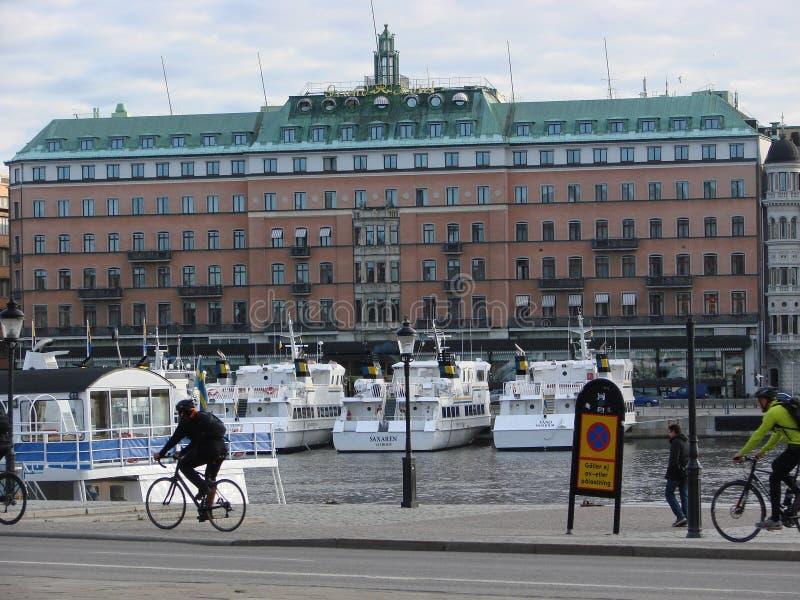 morgon stockholm fotografering för bildbyråer