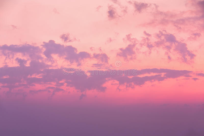 Morgonhimmel fotografering för bildbyråer