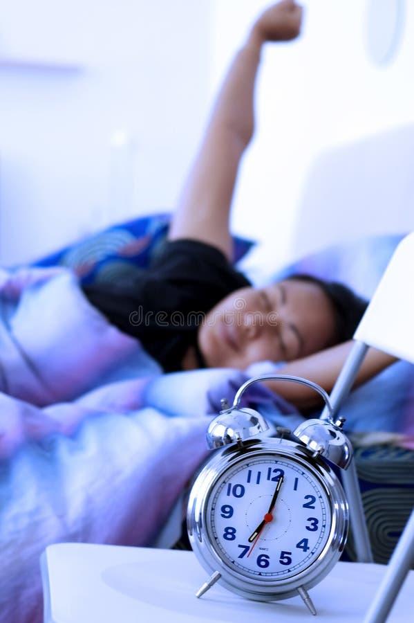 morgonwakeup royaltyfri fotografi