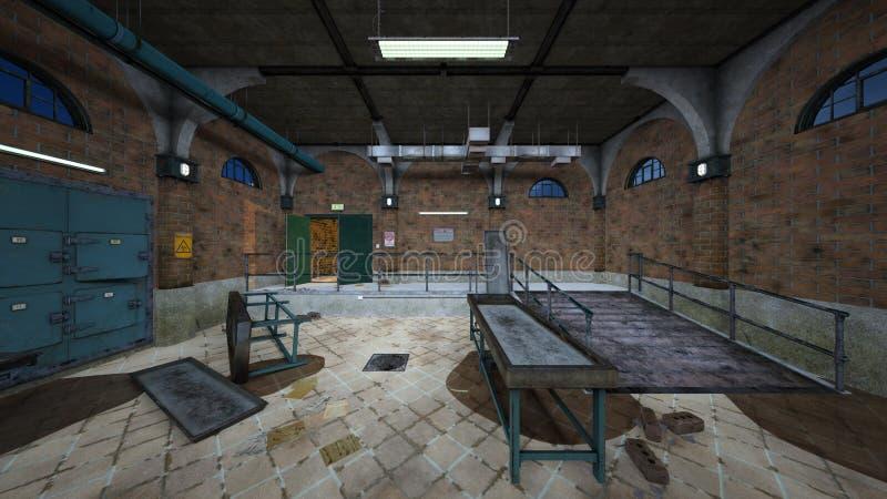 morgue libre illustration