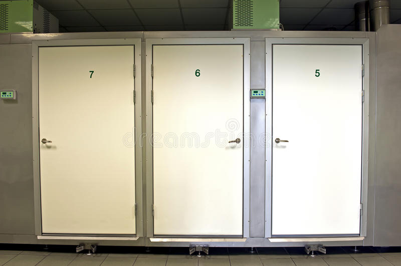 Morgue store royalty free stock photo