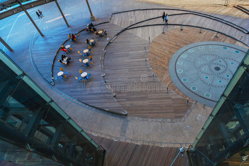 Mori在六本木新城的塔大厦在东京 免版税图库摄影