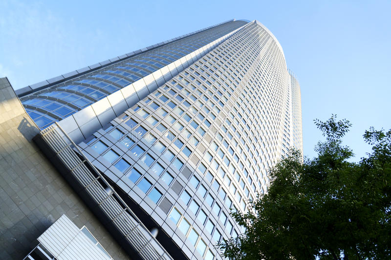 Mori Tower imagem de stock royalty free