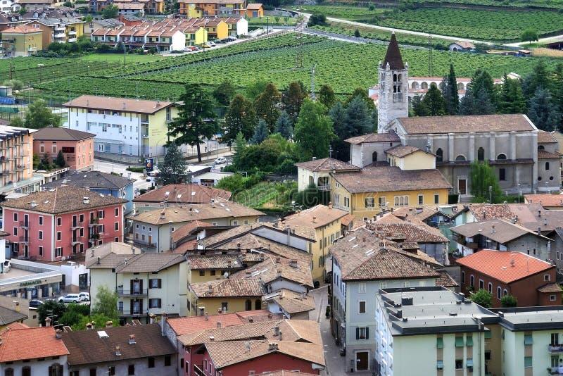 Mori, Trentino, Italy stock photo