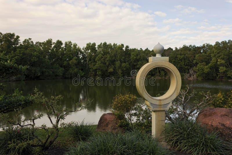 Morikami muzeum i japończyka Delray Ogrodowa plaża Floryda zdjęcie stock