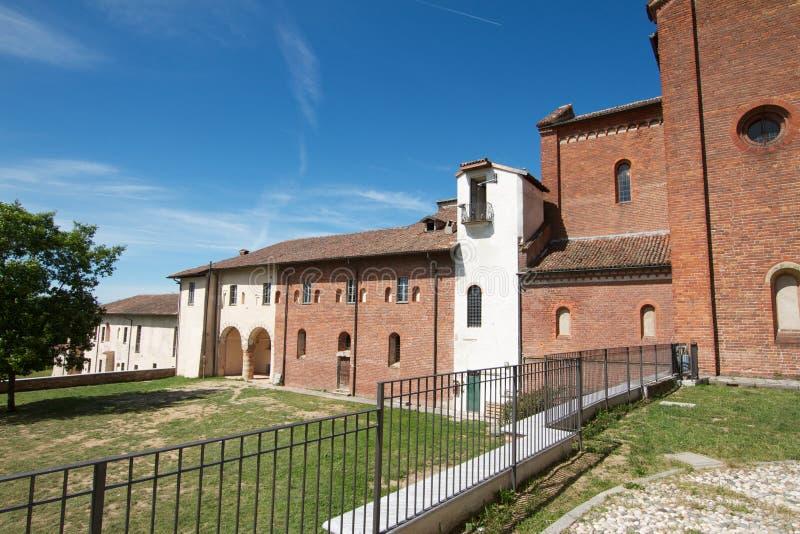 Morimondo-Abtei - PV Italien lizenzfreies stockbild