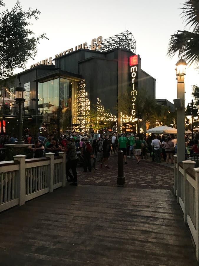 Morimoto Asia in Disney-de Lentes, Orlando, Florida stock foto