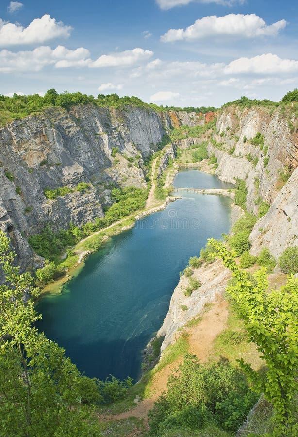 Download Morina quarry stock image. Image of spring, quarry, vegetation - 7389933