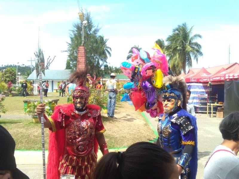Moriones festival Marinduque royaltyfria bilder