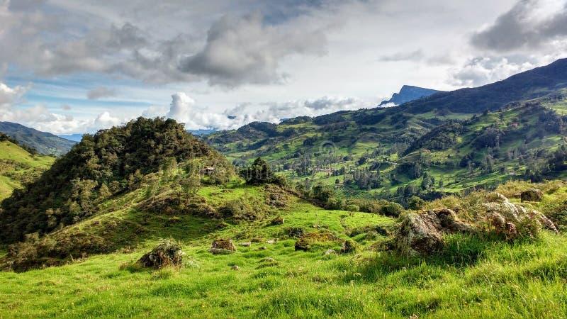 Moriskt landskap arkivfoto