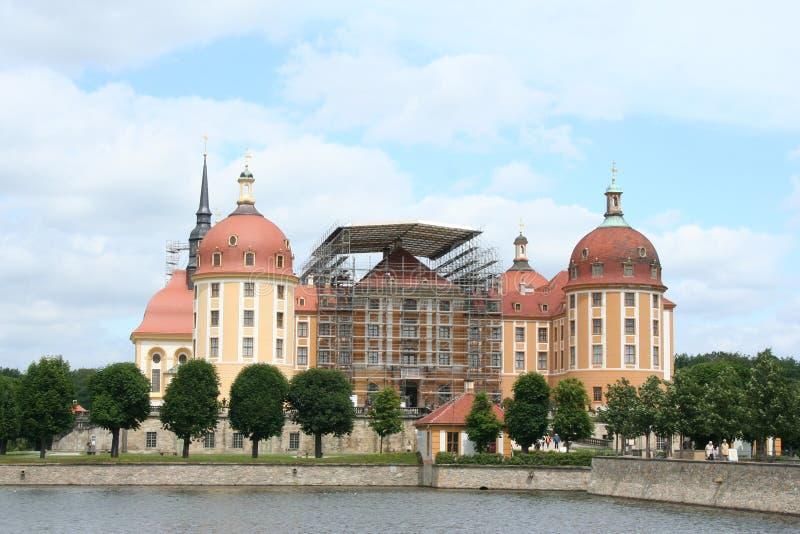 Download Moritzburg stockfoto. Bild von wasser, architektur, dresden - 12202096