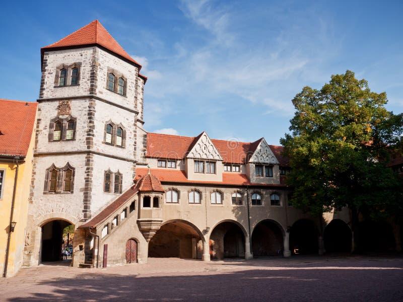 Moritzburg, Halle, Germany. Moritzburg in Halle in Germany royalty free stock images